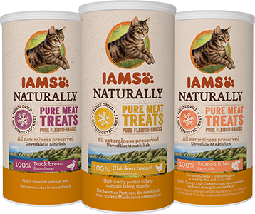 Discover IAMS Naturally Freeze Dried for Cats