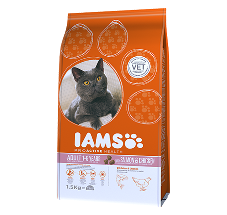 Iams® PROACTIVE HEALTH Adult With Norwegian Salmon & Chicken