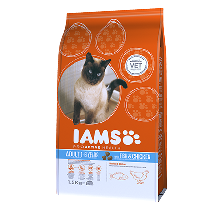 Iams® PROACTIVE HEALTH Adult with Wild Ocean Fish & Chicken