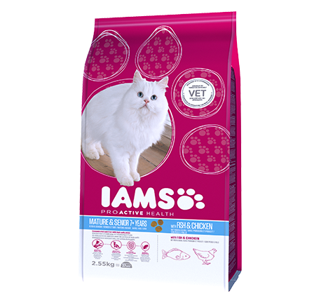 Iams® PROACTIVE HEALTH Mature & Senior with Wild Ocean Fish and Chicken