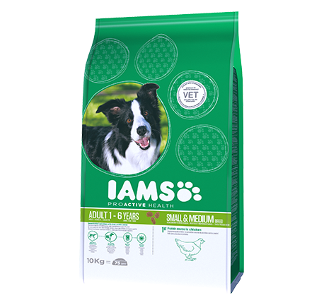 Iams® PROACTIVE HEALTH Adult Small & Medium Breed Rich in Chicken