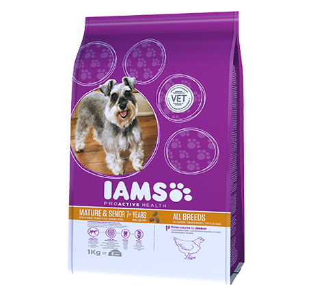 Iams® PROACTIVE HEALTH Mature & Senior Rich in Chicken