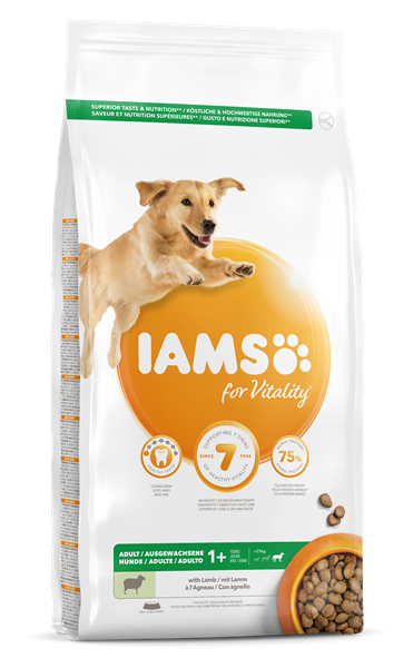 IAMS for Vitality Adult Large Dog Food with Lamb