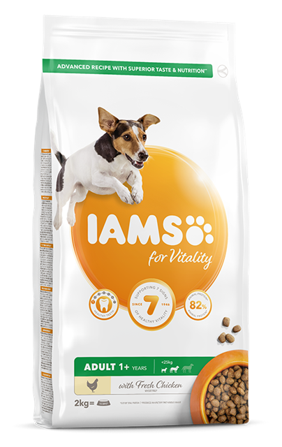 IAMS for Vitality Adult Small and Medium Dog with Chicken